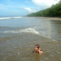 Baignade à la mer
