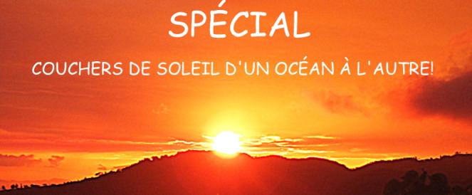 Couchers de soleil – d'un océan à l'autre