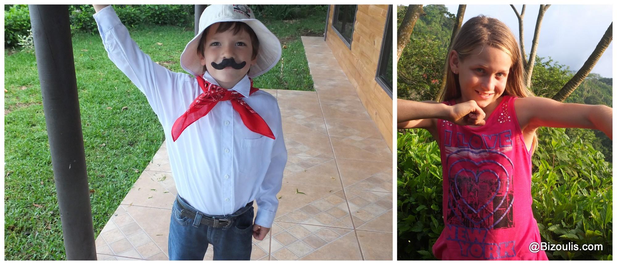 On fête le Guanacaste et notre belle Lilie!