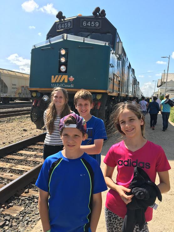 Le train: on adore!